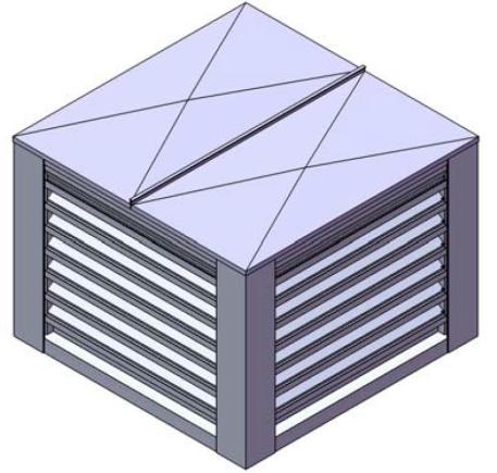 Persienne ext rieur ventilation stationnement for Persienne exterieur